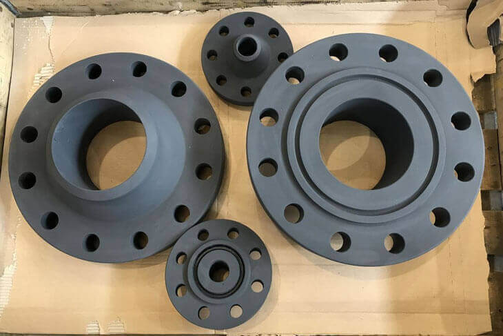 Low Temperature Carbon Steel A350 Flanges