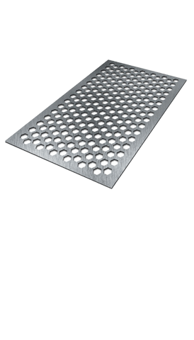 SS 321 Perforated Sheets