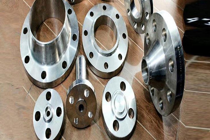 Ti. Alloy Flanges