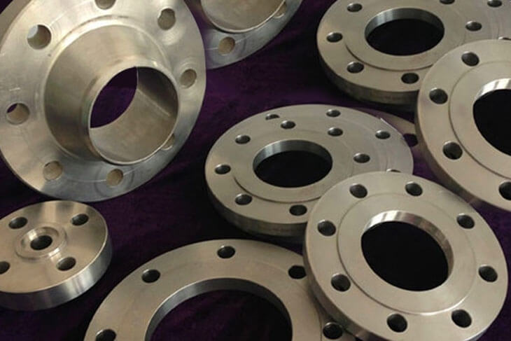 Ti. Alloy Gr 2 Flanges
