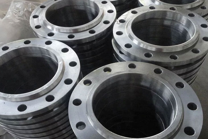 Ti. Alloy Gr 7 Flanges